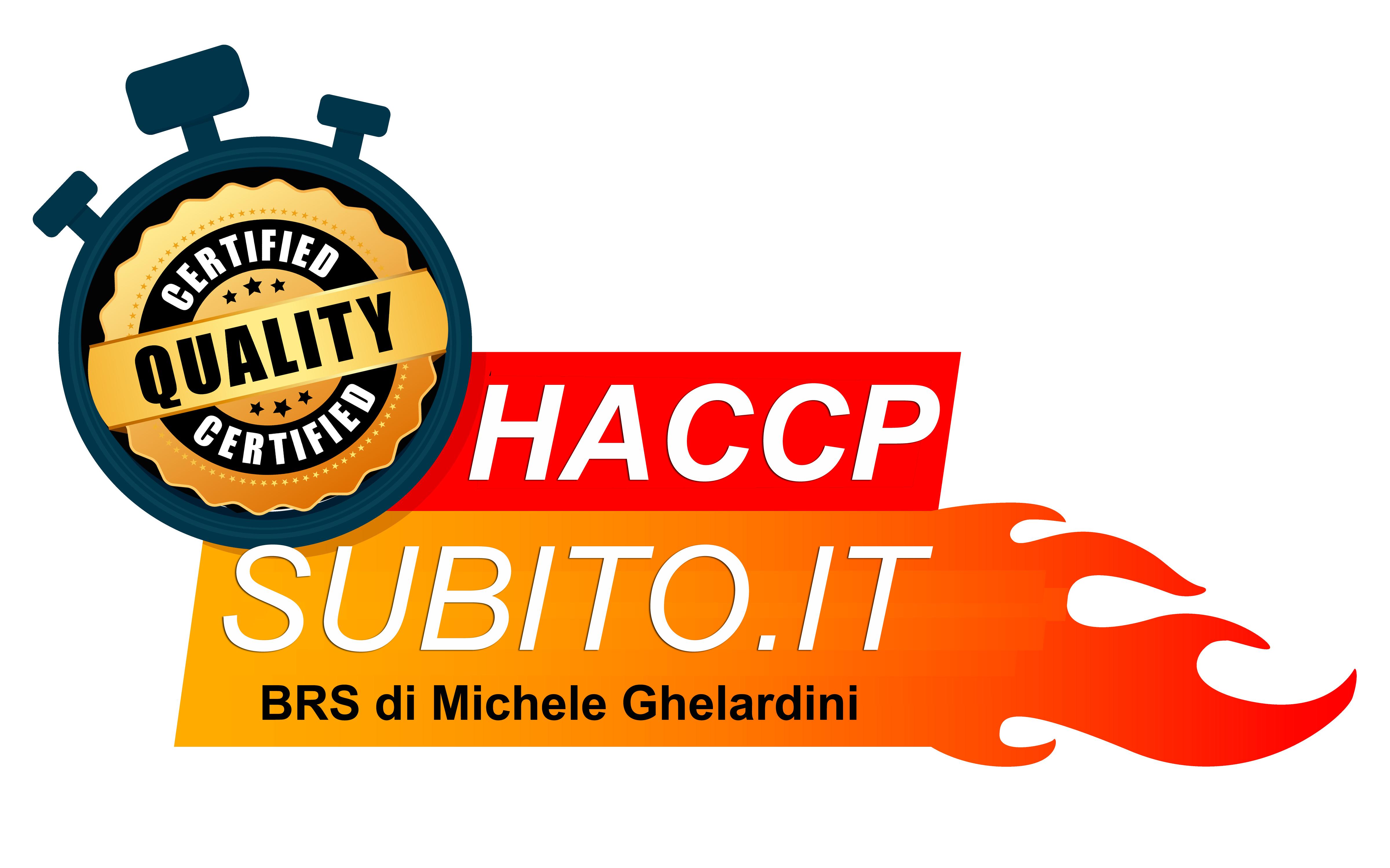 Certificazione haccp subito